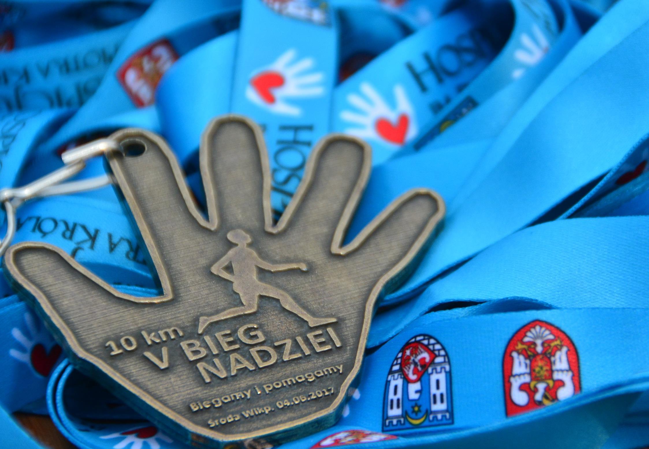 Medal V Biegu Nadziei