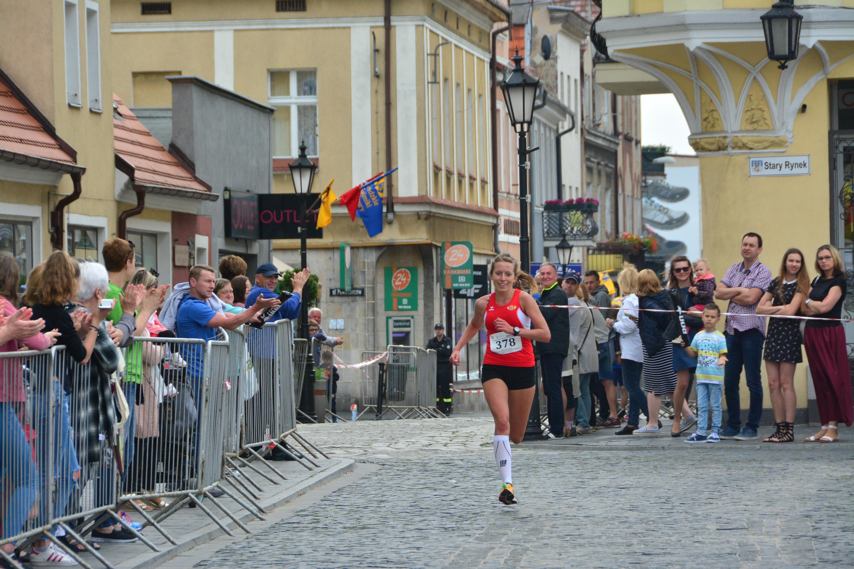 Zwyciężczyni w kategorii Open kobiet Magdalena Lewandowska